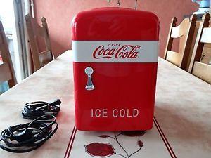 Mini Frigo Coca Cola 12 et 220 volts jamais utilisé. | eBay