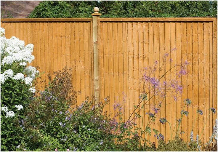 Forest Close Board Wooden Fence Panels 91cm x 183cm. Also available in three different sizes.
