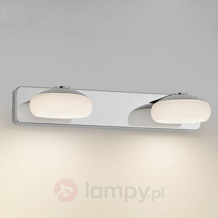 Lampa ścienna LED SILK, 2-pkt., IP44 7531474