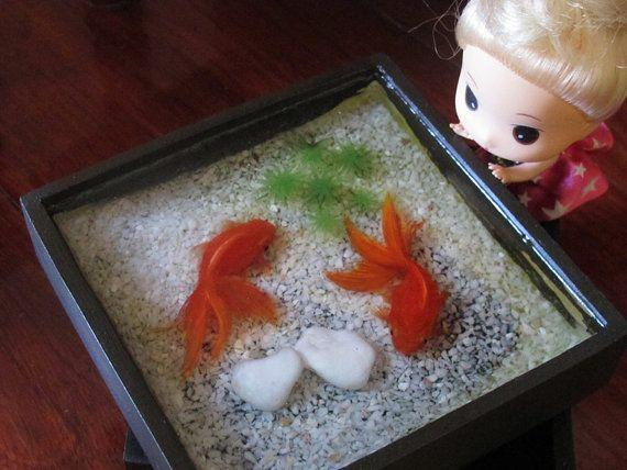 Best D Goldfish Images On Pinterest Goldfish Resin Art And - Incredible 3d goldfish drawings using resin