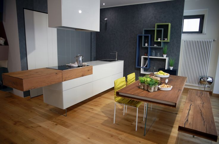 36e8 Weightless #Kitchen #lagodesign @ LAGO STORE #Cuneo