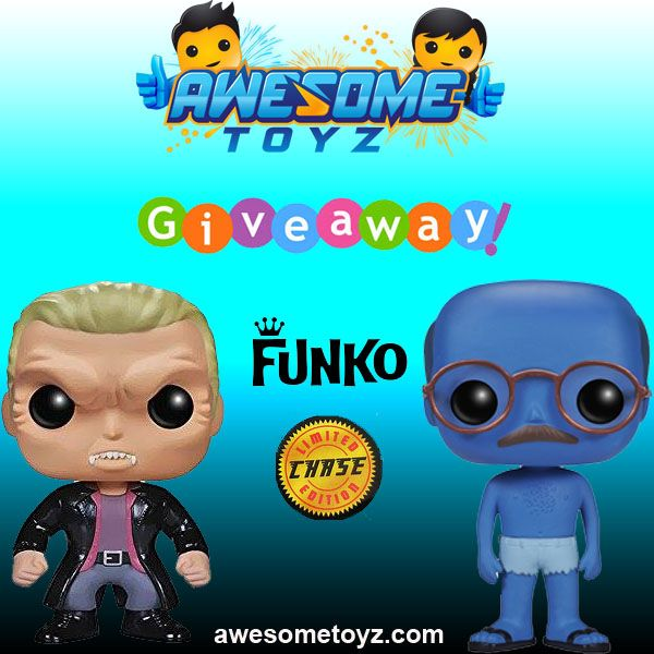 Enter to WIN! Funko Chase POP! Giveaway from Awesome Toyz!
