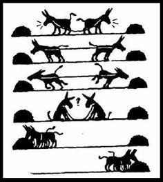 El Zahorí: La fábula de los 2 burros.