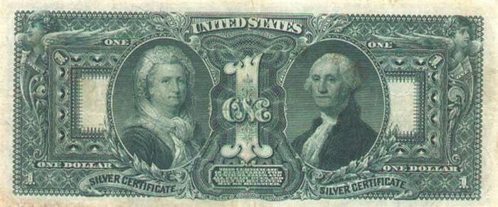 Strange Us Dollar Bills From The Past 1 00 Silver