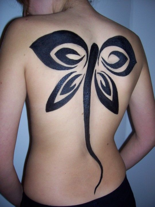 Tribal Butterfly Tattoos For Women - pictures, photos, images