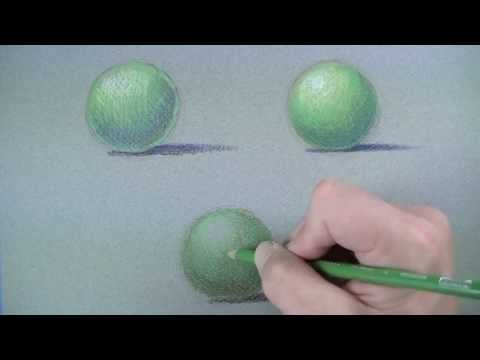 Colored Pencil Techniques - 3 Approaches