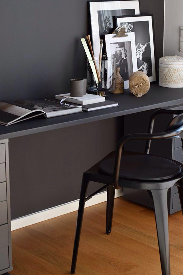 DIY | Skrivbordsskiva i Linolium