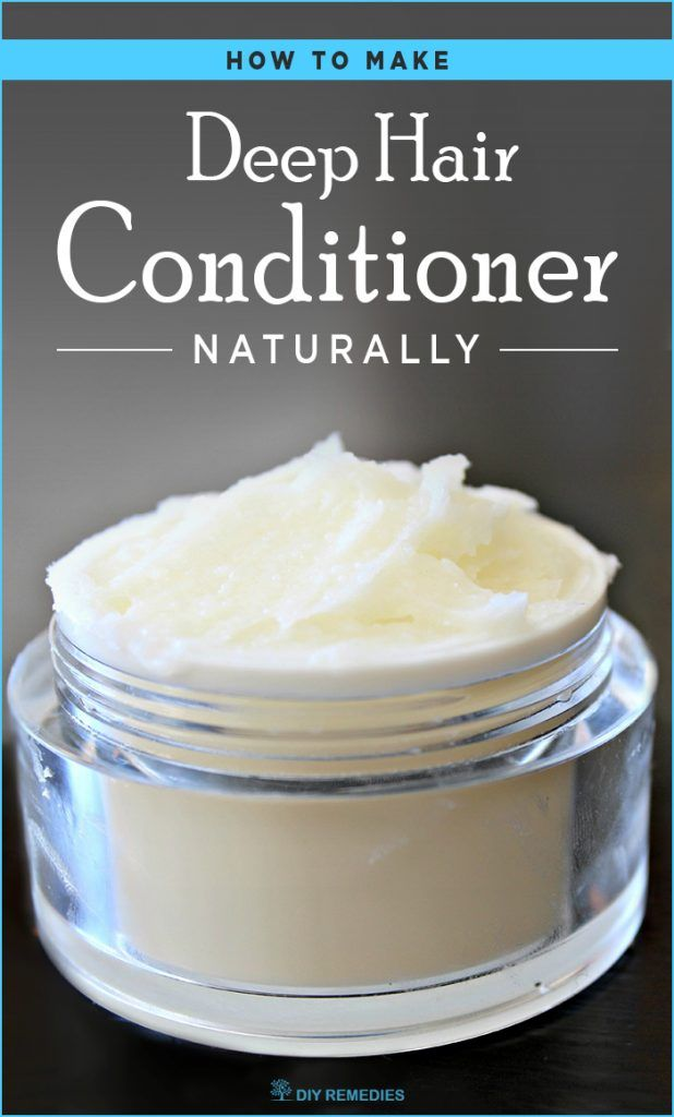 How to make Deep Hair Conditioner Naturally - DIY Natural Home Remedies
