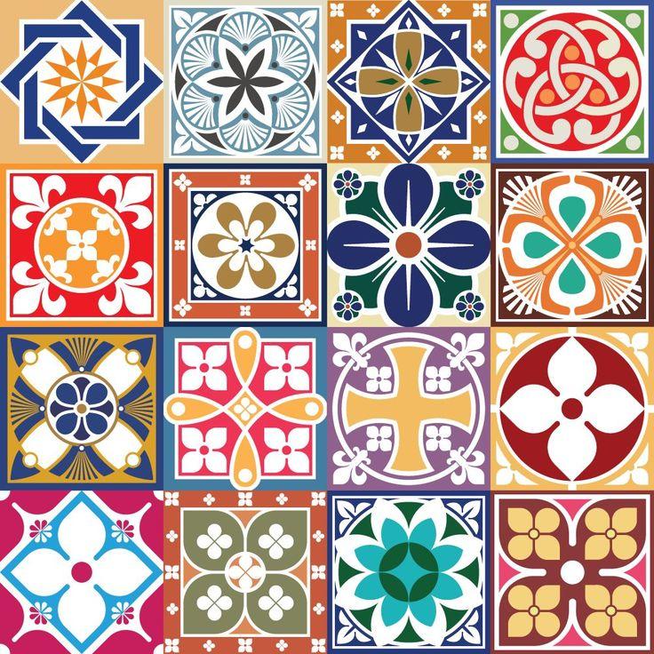Adesivo de azulejo hidráulico 6002 décoration de la cuisineréfrigérateurs autocollantspapiers