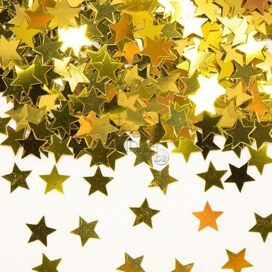 Tafelconfetti ster goud 15gr. - Jubileum - Thema's - Feestwinkel2015
