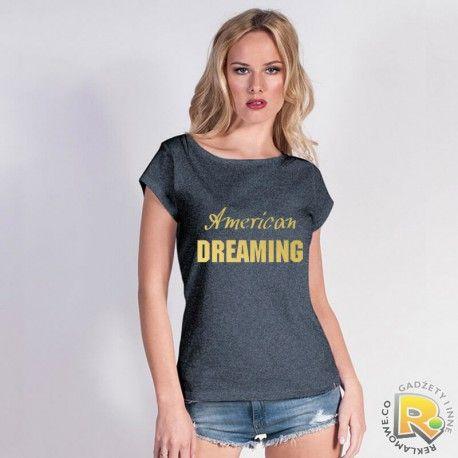 koszulka ze złotym napisem #tshirt #koszulka #gold