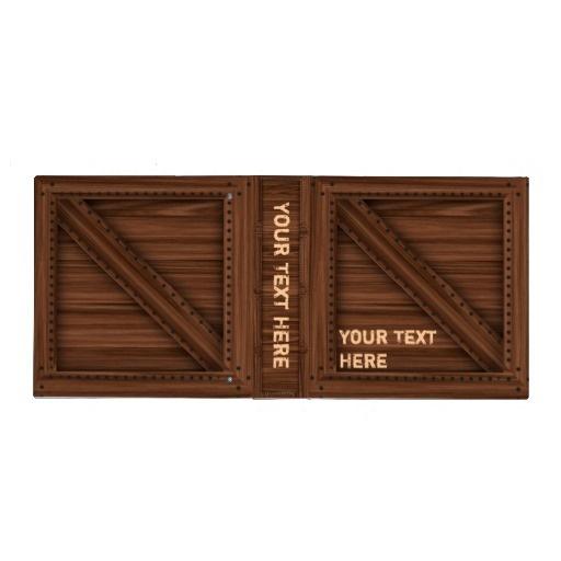 Dark Wood Crate - Binder