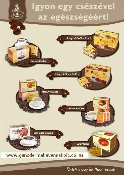 DXN kávék:Finom és egészséges!
