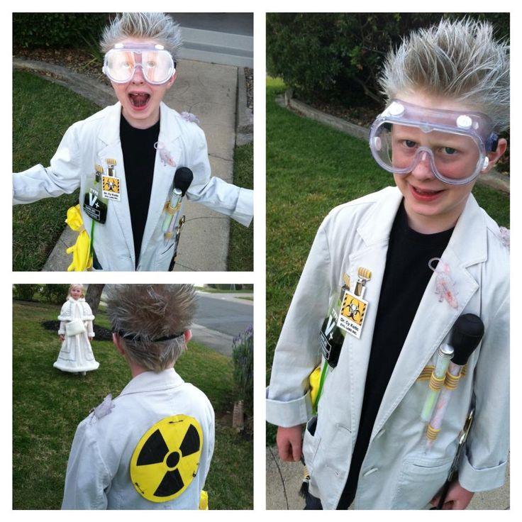 Mad Scientist Halloween Costume 2013