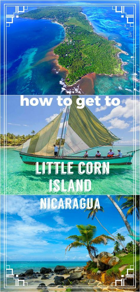 Little Corn island, Nicaragua complete guide on how to get to the beautiful island by public transport. The cheapest way to get to the paradise in the Caribbean. Buses, boats, ferries + prices, schedule, tips. Travel Nicaragua, Central America, beaches, diving, snorkeling,