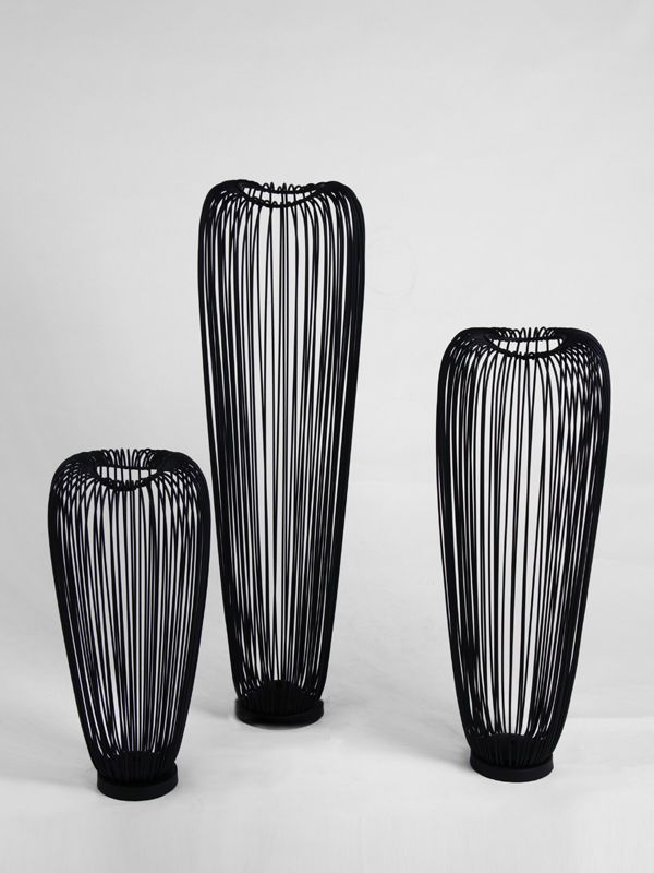 Metal Floor Vase Home Decor Accessories