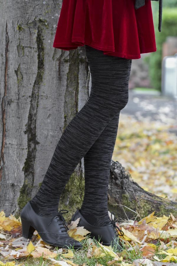 medium Celestial Sky Wool Tights