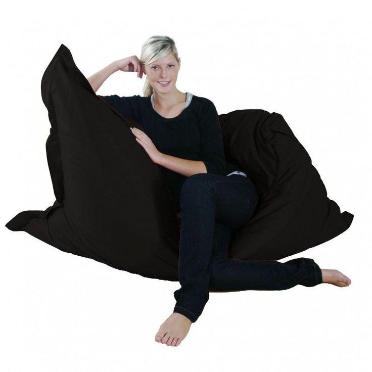 Kinzler Outdoorfähiger Riesensitzsack ca. 140 x 180 cm, Farbe schwarz Jetzt bestellen unter: https://moebel.ladendirekt.de/garten/gartenmoebel/outdoor-sitzsaecke/?uid=8e67c081-f8e6-5d75-9b89-6dee037dd911&utm_source=pinterest&utm_medium=pin&utm_campaign=boards #möbel #einrichtung #garten #deko #gartenmoebel #outdoorsitzsaecke