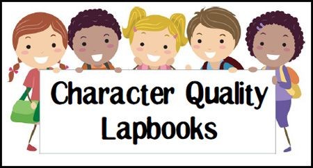 Free Character Study Lapbooks