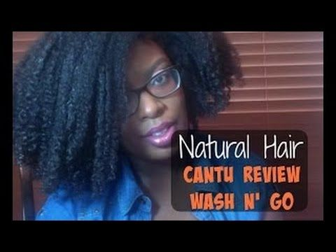 Cantu Review | Annettemint's Wash n' Go Routine - YouTube