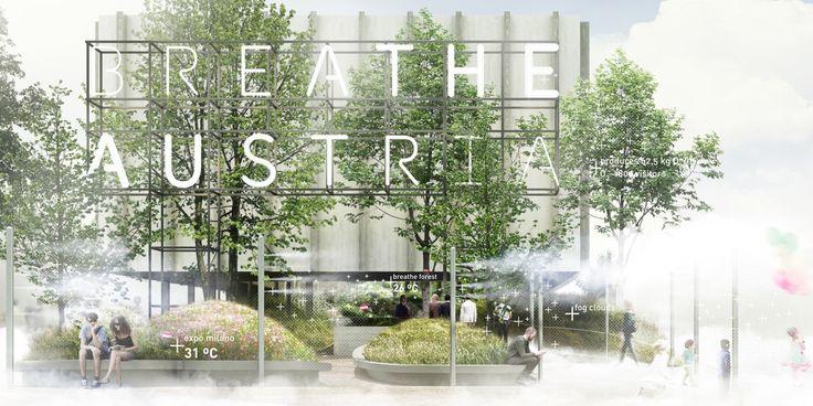breathe.austria Austrian pavilion #expoaustria #expo2015