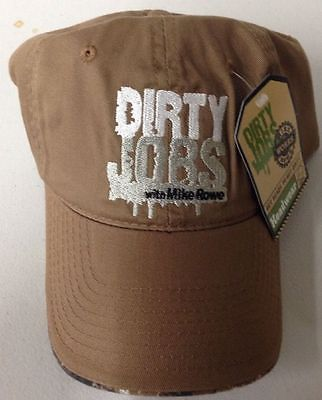 Dirty-Jobs-With-Mike-Rowe-Adjustable-Hat-Get-Ready-To-Get-Dirty-Head-Wear-NEW