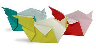 Origami Dog's Chopsticks Stand