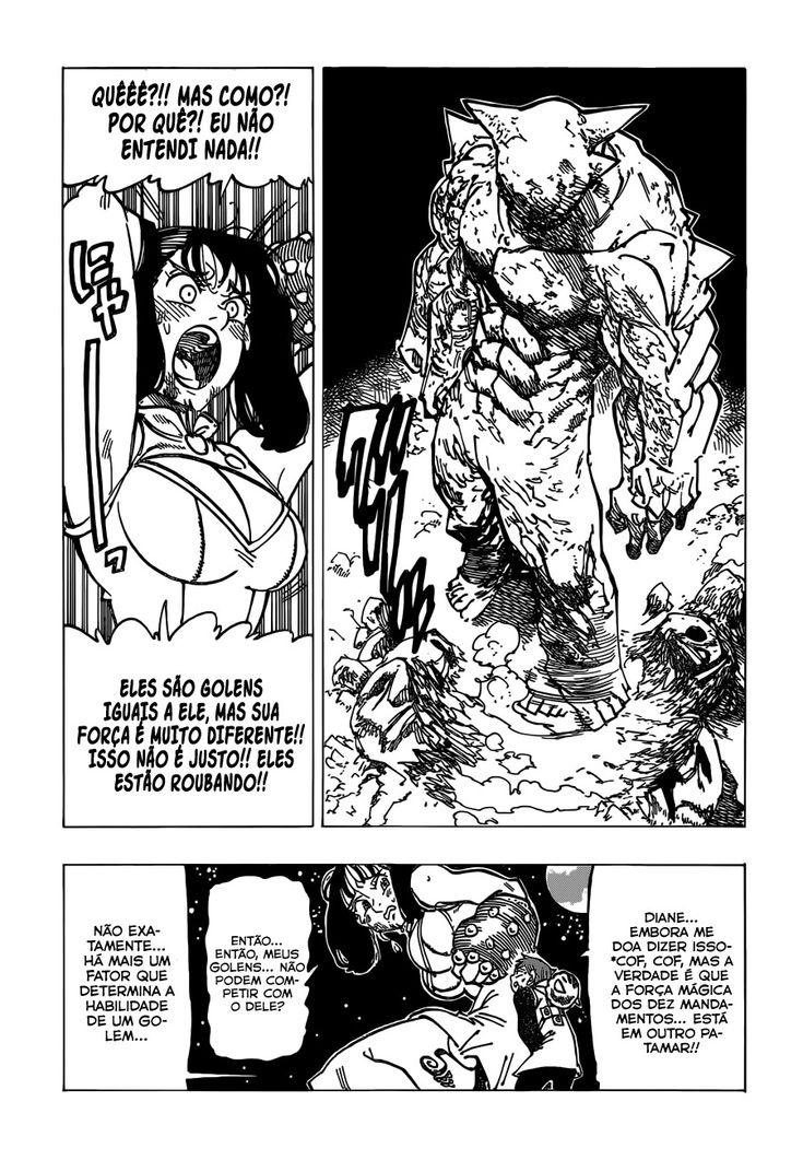 Pin de ꜥꜤ ᥣ͠ᥲꦒᥲki em Nanatsu no taizai Manga Nanatsu