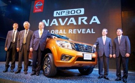 #Nissan #Navara #PickupTruck 2015 New Model Nissan Navara released in Bangkok, Thailand available for export at Jim Autos Thailand http://toyota-dealer.org/2015-nissan-navara-np300.html