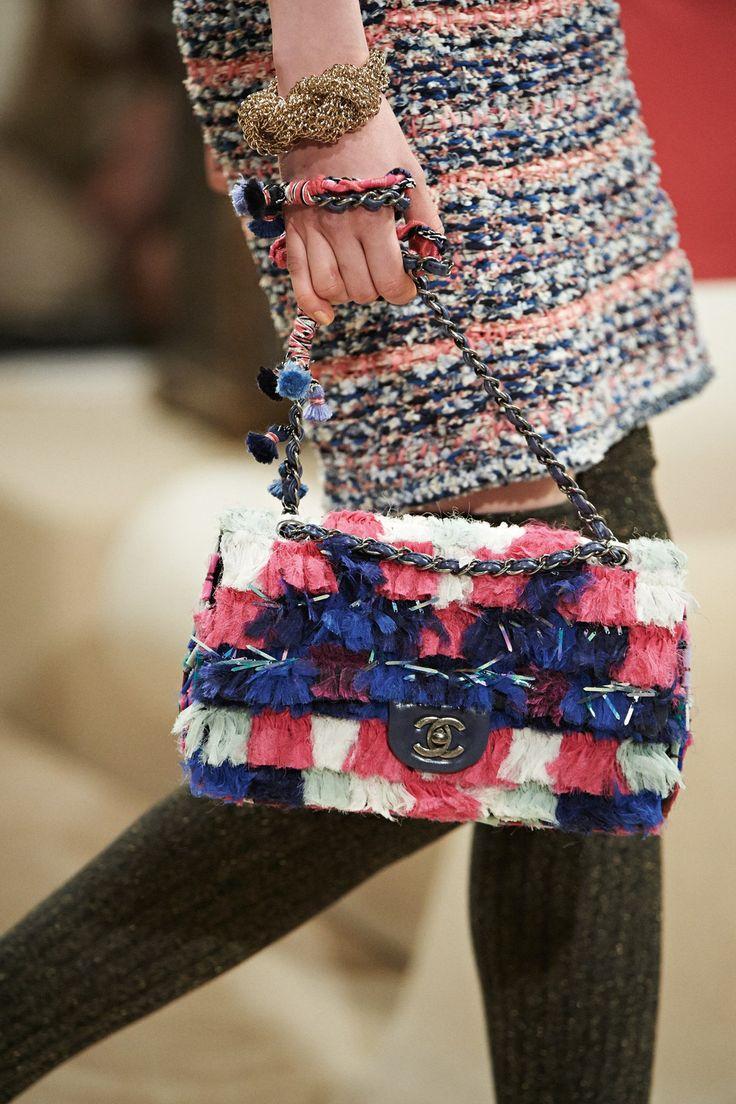 Chanel, pre-spring/summer 2015 fashion collection. Gotta love Chanel!!