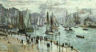 Claude Monet - Le Havre, Barche da pesca uscenti dal porto