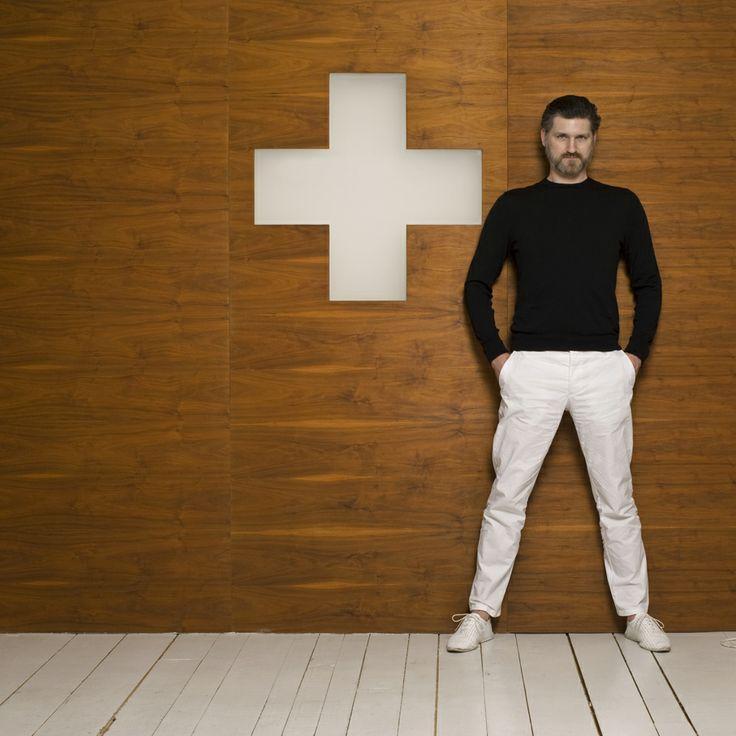 Philippe Cramer, designer d'intérieur. © Francois Wavre / Rezo