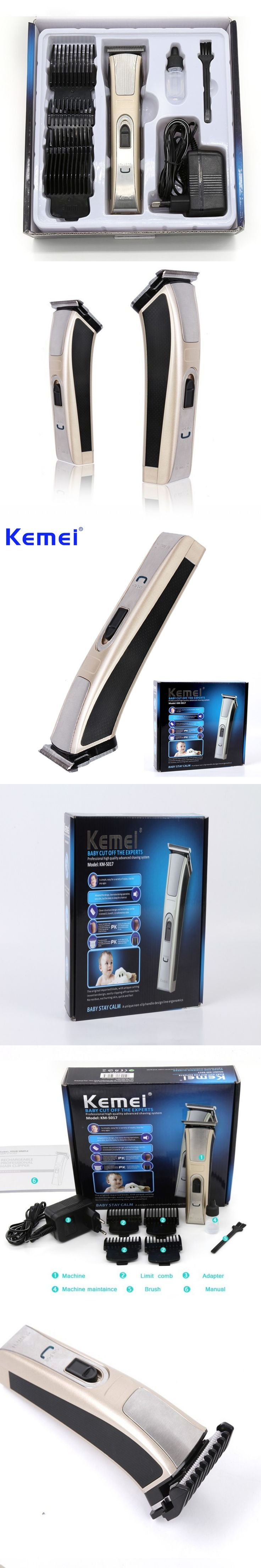 KEMEI High-Power Electric Man Baby Hair Clipper Trimmer Mute Safe Rechargeable Hair Cutting Machine aparador de barba BT-105