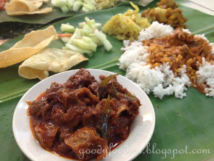 Eat Your Heart Out: Banana leaf rice @ Mano Mega Curry House, Alam Damai, Cheras