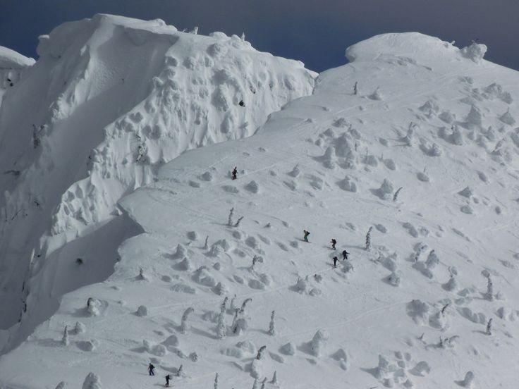 Whitewater ski resort, BC