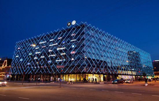 Casestory - Dynamic Media Façade renews Confederation of Danish Industry in the Heart of Copenhagen