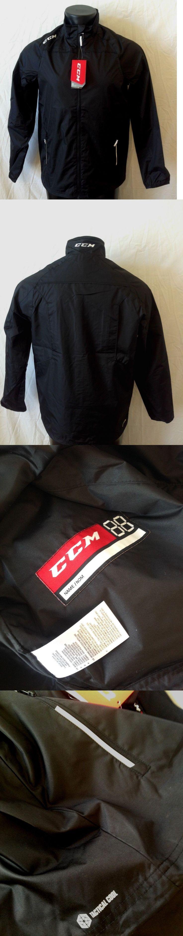 Men 159122: Ccm Hockey Lightweight Rink Suit Jacket-Black Senior Adult Size S -> BUY IT NOW ONLY: $63 on eBay!