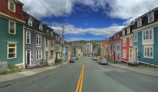 Photo of Jellybean Row Houses