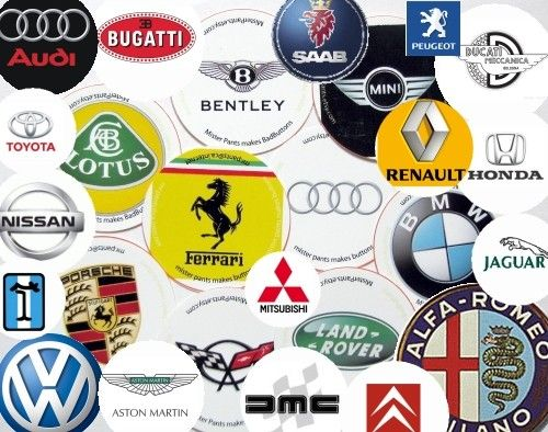 Best Automobile Logos Ideas On Pinterest Name Symbols Car - Car signs and namescar signs vector free download