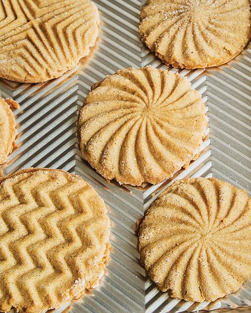 Brown Sugar & Cardamom Stamped Shortbread Cookies ...