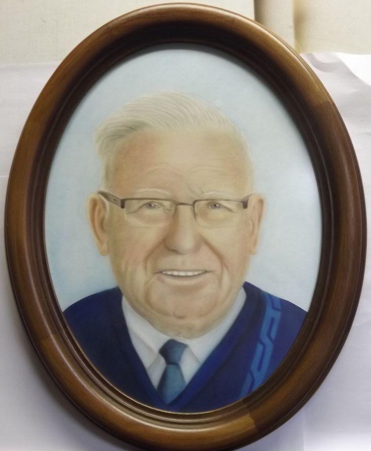 Portret van mijn in 2014 overleden vader