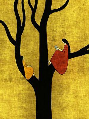Tree 085 by Toni Demuro, 45 EU.  Love the colors.