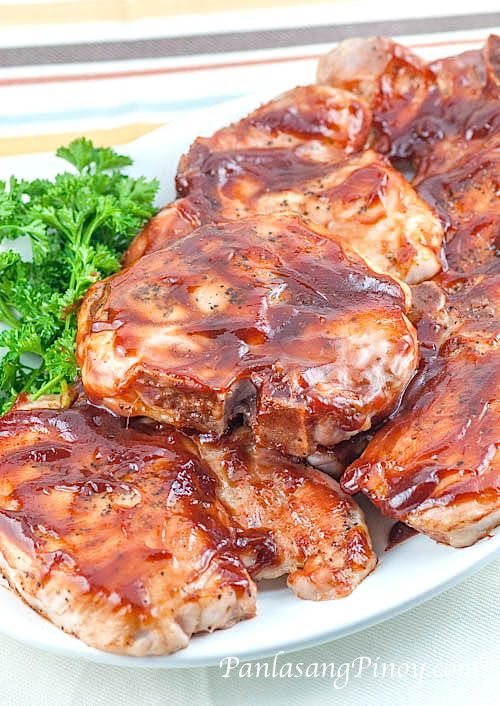 This Simple Baked Pork Chop Recipe pertains to seasoned and seared pork chops with barbecue sauce, which are baked to perfection. This is simply delicious.