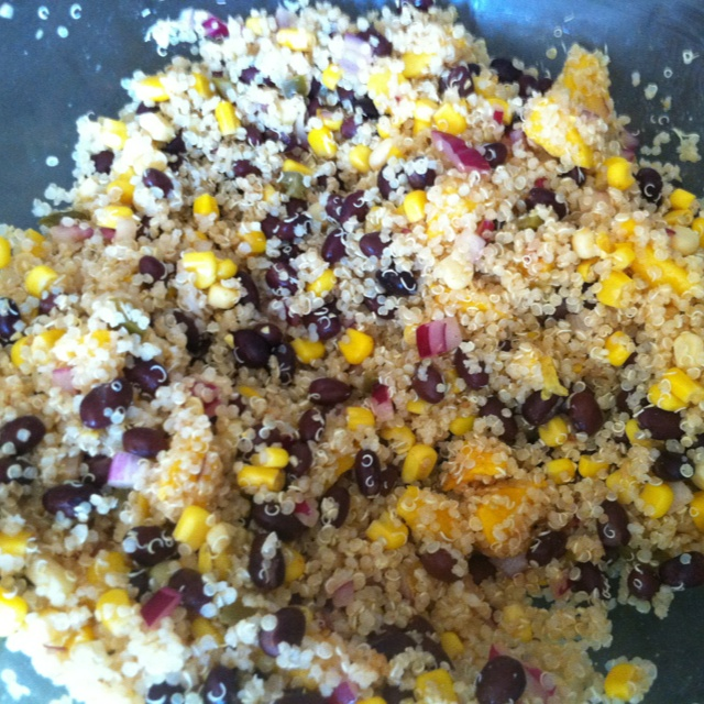 ARIELLA Southwestern Black Bean Quinoa and Mango Medley. I made this ...
