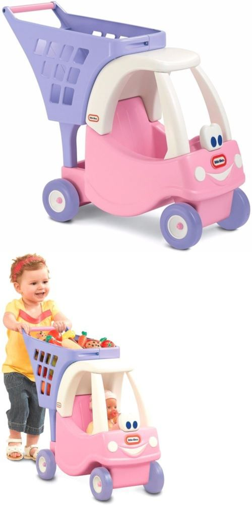 Child Size 2574: Little Tikes Princess Cozy Coupe Shopping Cart Durable Plastic Toy New -> BUY IT NOW ONLY: $38.84 on eBay!