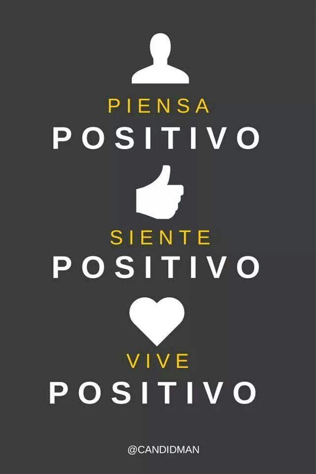 Actitud positiva.