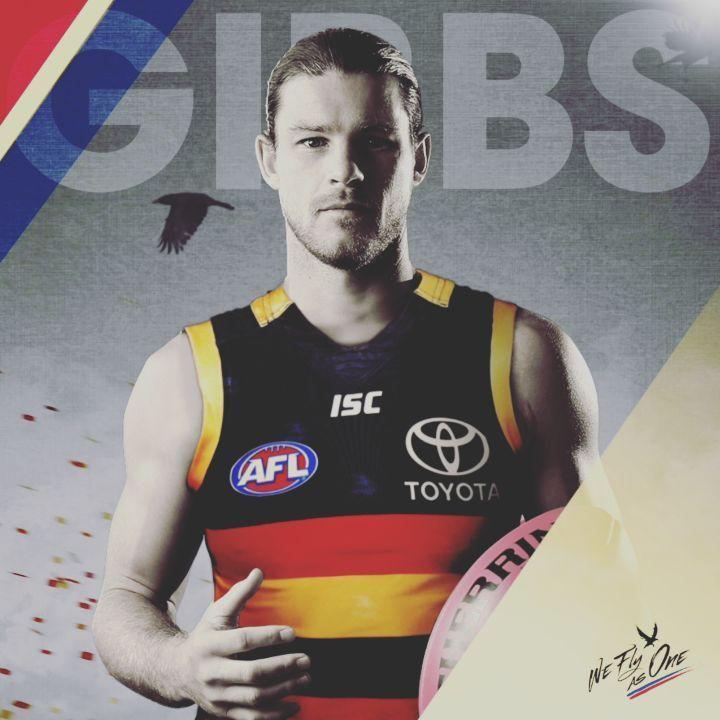 "9,183 Likes, 249 Comments - Adelaide Crows (@adelaide_fc) on Instagram: ""Welcome @bgibbsy4 ❤️ #weflyasone"""