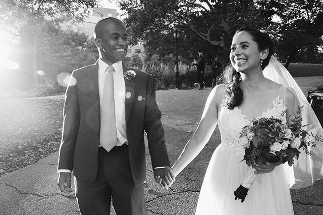 Grinning From Ear To Ear Its What We Live For Book Your Joyful Modern Ceremony With Us Today Honeybreakoffic Wedding Officiant Nyc Wedding Wedding Modern