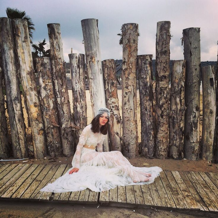 #Costarellos #Bridal2016 shooting backstage pic!