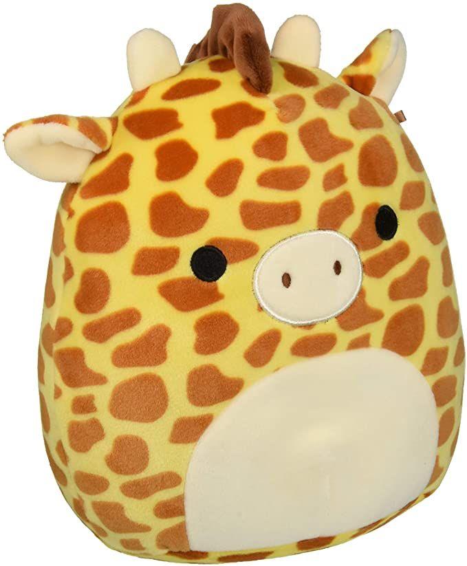 Amazon Com Squishmallow Sq18 017s 8 Giraffe Toy Multicolor Toys Games In 2020 Giraffe Toy Plush Dolls Giraffe